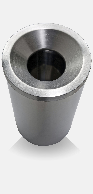 stainless steel dustbin grizu
