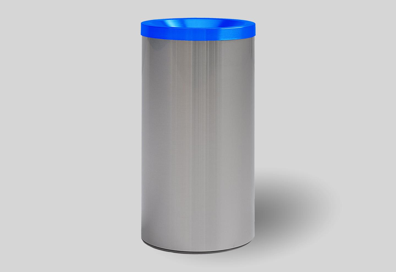 Blue dustbin grizu